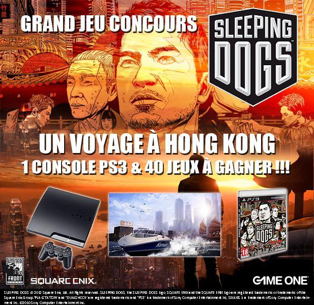bon plan jeu concours GameOne un voyage à Hong Kong