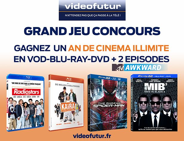 concours: PARTICIPEZ A NOTRE GRAND JEU CONCOURS VIDEOFUTUR ET TENTEZ DE REMPORTER UN PASS DUO.