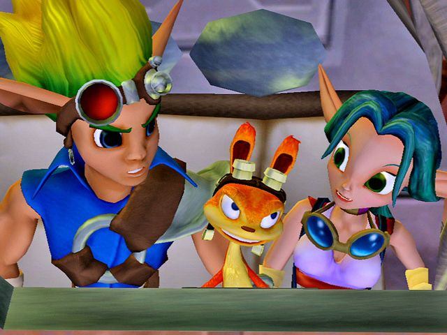 Air Bag One VS The Jak and Daxter Trilogy: Whatever you want