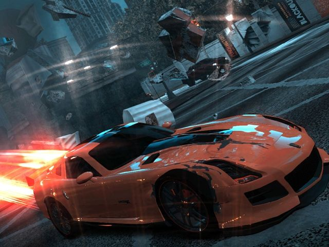 Laurent Garnier VS Ridge Racer: Unbounded Jacques in the box